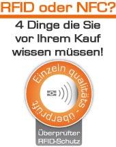 7e52e23386d86 Bodenschatz Funkschutz Geldbörse aus edlem Vollrindleder mit 18  Kartenfächern und RFID Daten-Sicherung