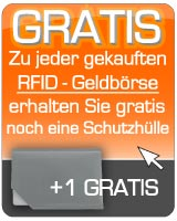 8a40c270c76d0 Bodenschatz RFID-Damenbörse Kings Nappa querformat aus Leder mit ...