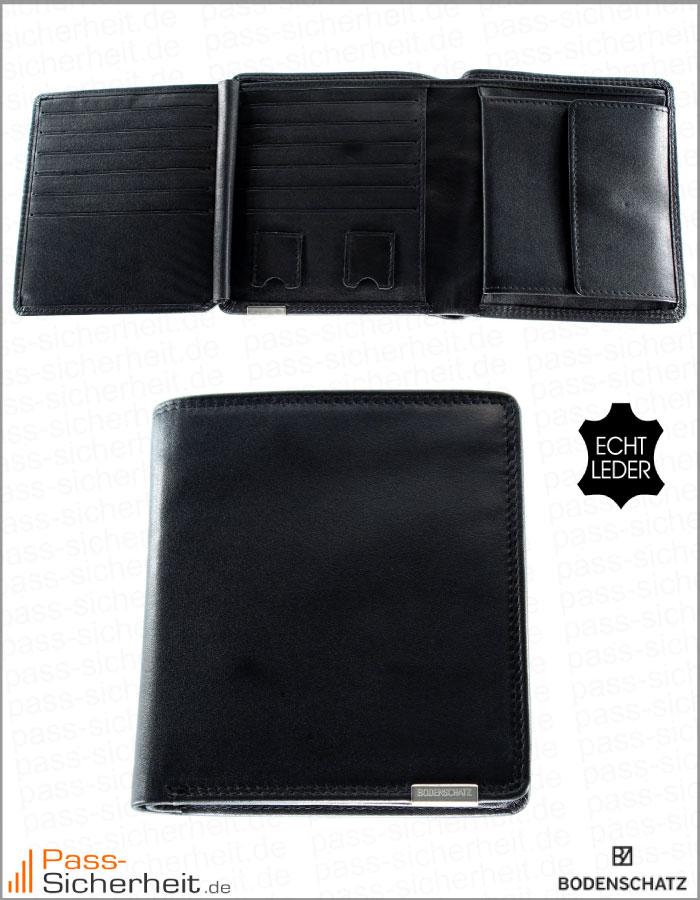 Bodenschatz Datenschutz Portemonnaie Kings Nappa Hochformat Aus