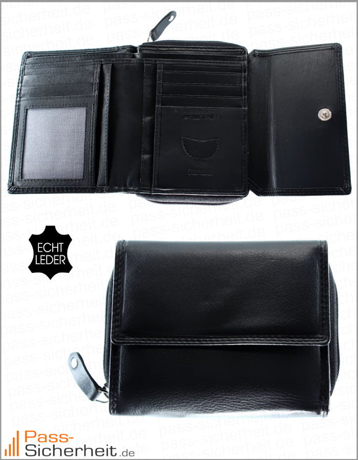 nfc rfid abh rsicheres damen portemonnaie mit rfid. Black Bedroom Furniture Sets. Home Design Ideas